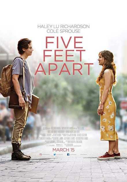 فيلم Five Feet Apart 2019 مترجم