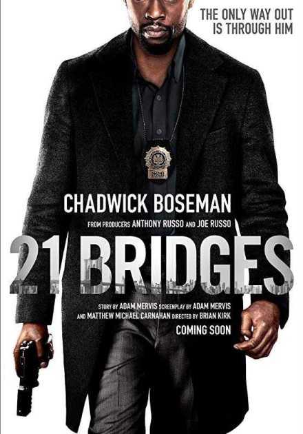 فيلم 21 Bridges 2019 مترجم