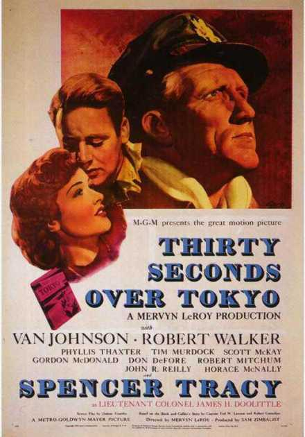 فيلم Thirty Seconds Over Tokyo 1944 مترجم