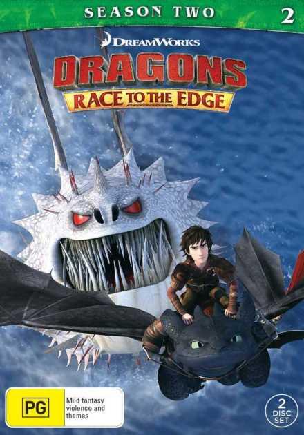 مسلسل Dragons: Race to the Edge الموسم الثاني