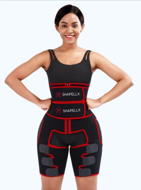 NeoSweat™ Exclusive 3-In-1 Waist and Thigh Trimmer Butt Lifter