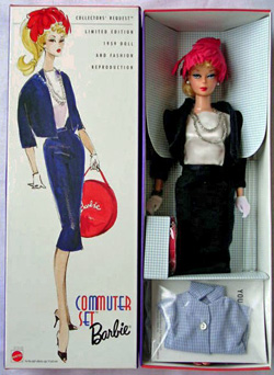 1999 Commuter Set Vintage Barbie Doll Reproduction