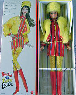 1998 Twist n Turn Vintage Barbie Doll Reproduction