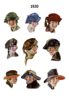 1920s Hat Pictures