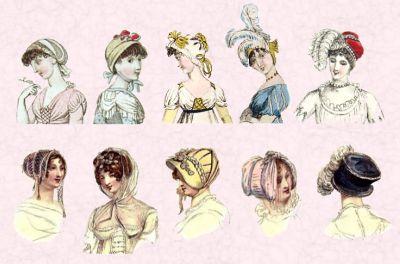 Regency Headwear - Philippa Jane Keyworth - Regency Romance Author
