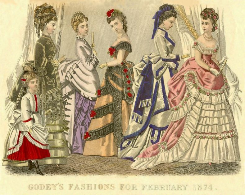 godeys1874 Victorian Blouses For Sale