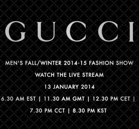 Gucci Men Livestream