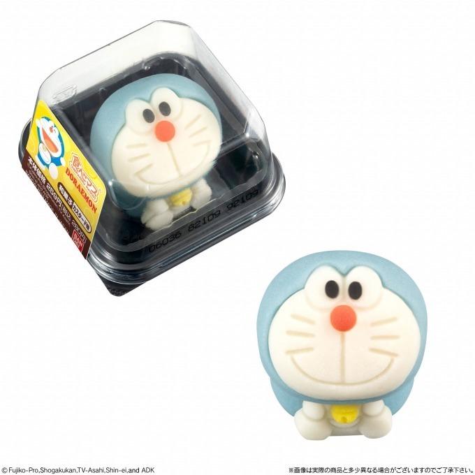 """""""ドラえもん""""が和菓子に!「食べマス ドラえもん」全国のローソンで発売、カスタード&苺の2種 - 写真2"""