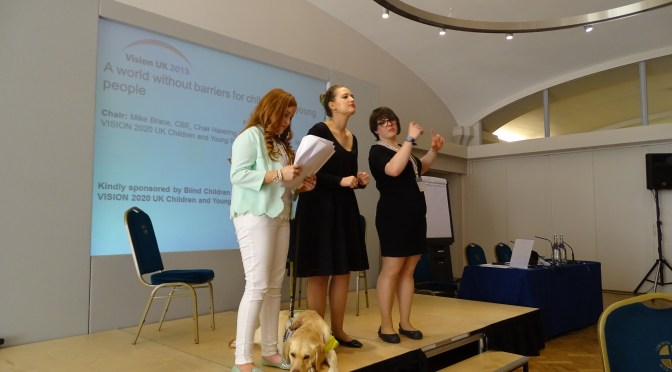 What Are You Wearing: Emily's Outfit For the Vision UK Conference 2015 #VisionUK2015