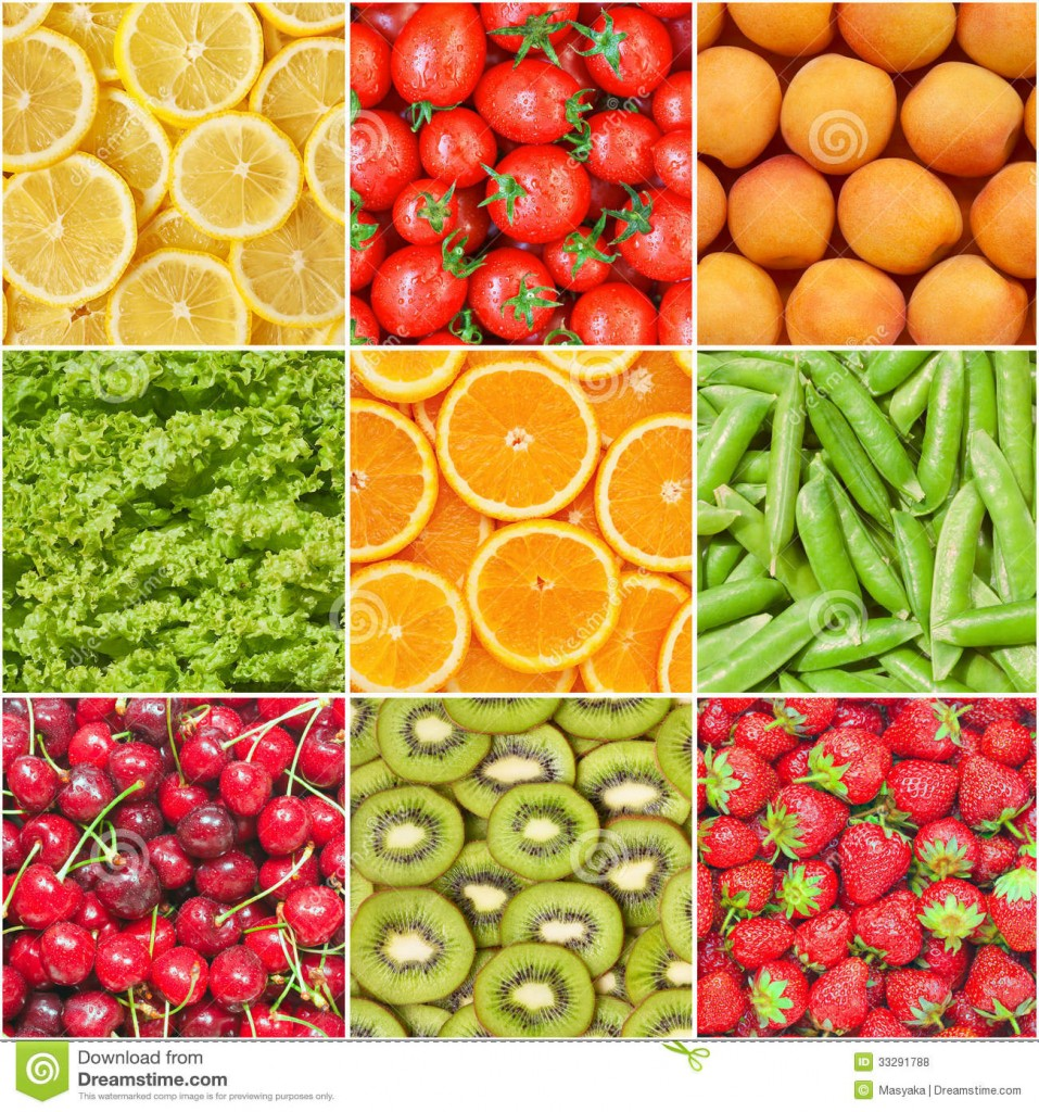 Image of healthy foods