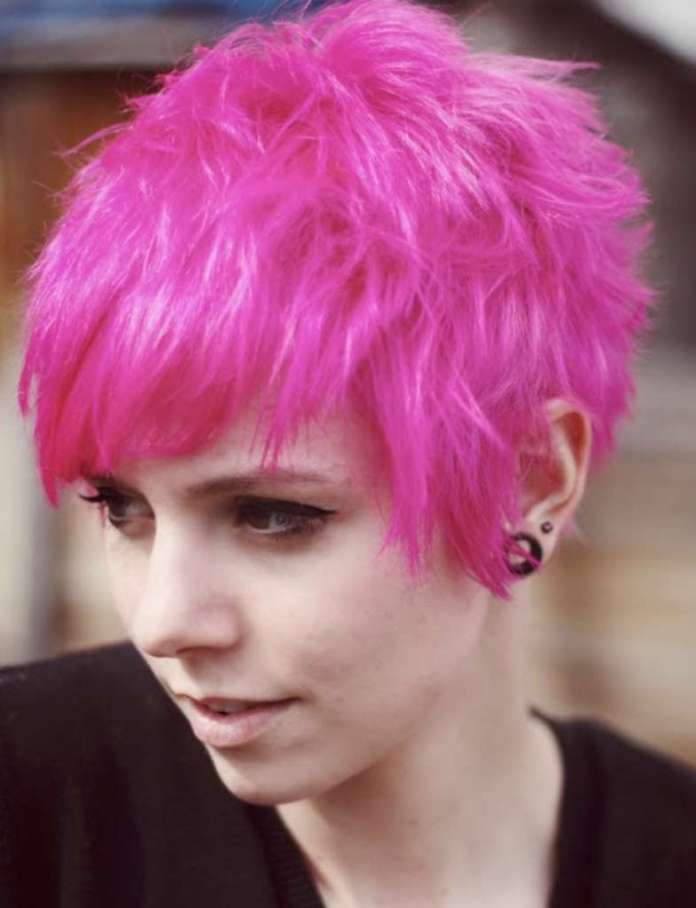 Short Hairstyles And Colors - 2