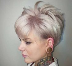 Short Hairstyle Evening - 3