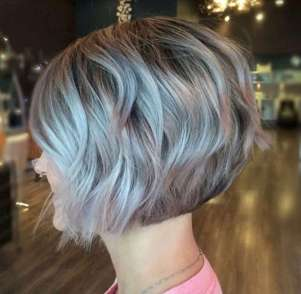 Short Hairstyle Evening - 5