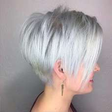 Short Hairstyle Grey 2017 - 2