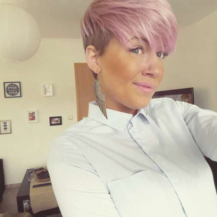 Short Pink Hairstyles 2017 - 2