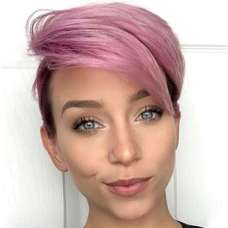 Short Purple Hairstyles 2017 - 3