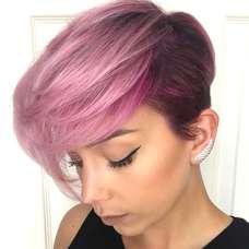 Short Purple Hairstyles 2017 - 6