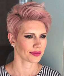Short Haircuts Pink 2017 - 2