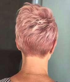 Short Haircuts Pink 2017 - 3