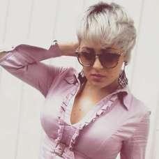 Fernanda Lobeu Short Hairstyles - 1