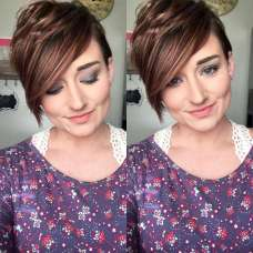 Kaycie Harrison Short Hairstyles - 3