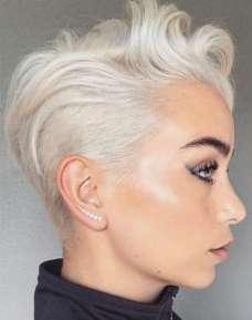 Sarah Louwho Short Hairstyles - 1