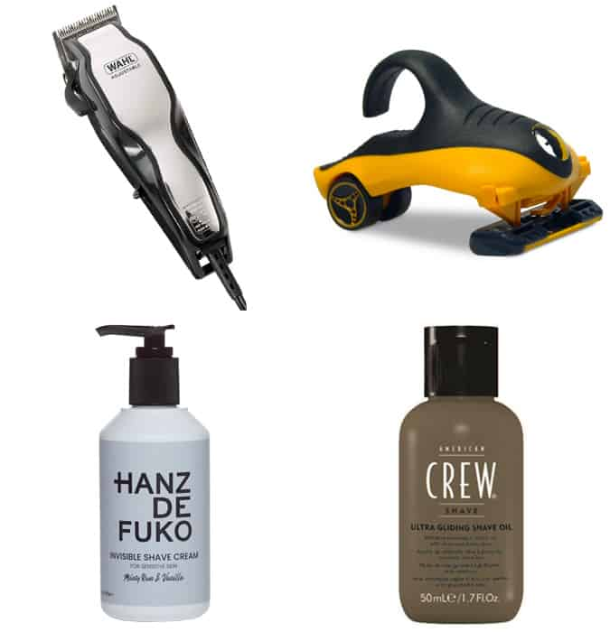 Shave Head Tools and Grooming Products