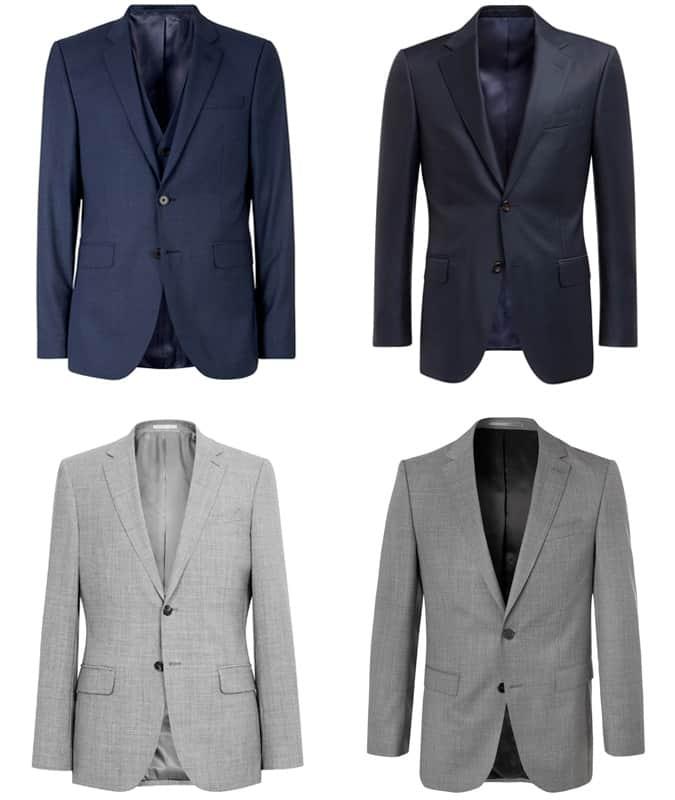 Men's Contemporary Suits