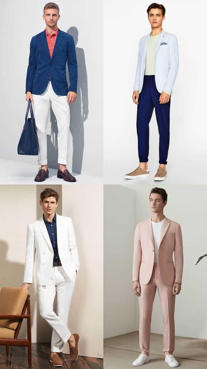 lightweight summer suits