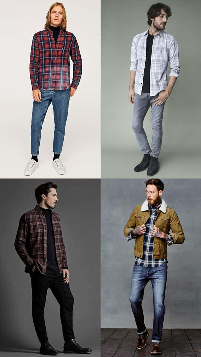 check shirt styles for men