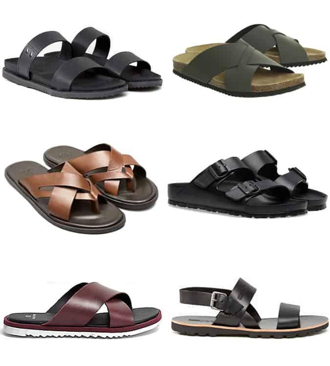 The best men's sandals for summer 2017