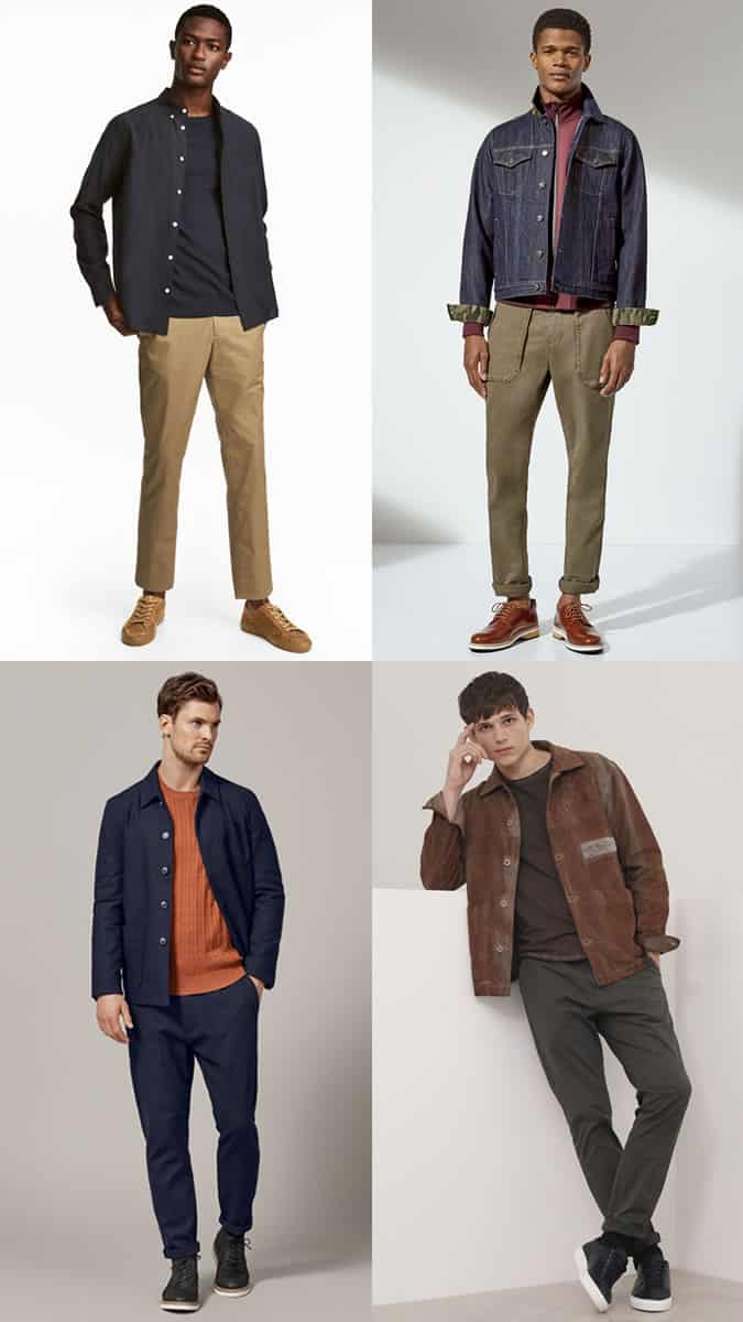 how to wear twill cotton chinos