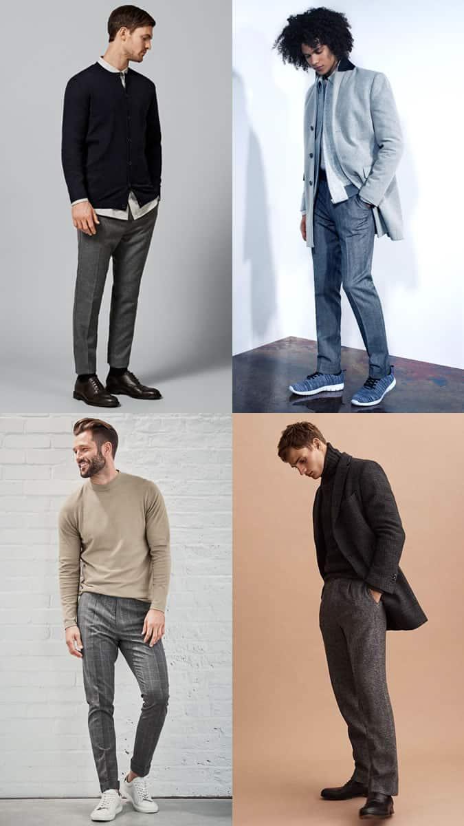 ho to wear wool trousers