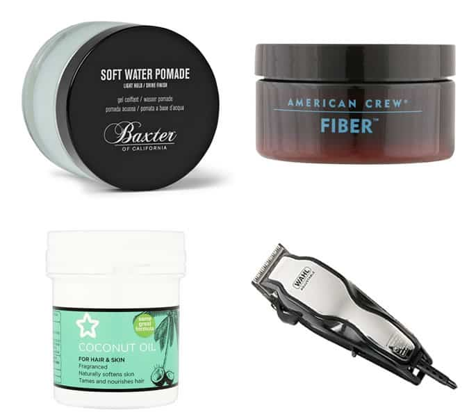 styling products for modern buzzcut haircuts