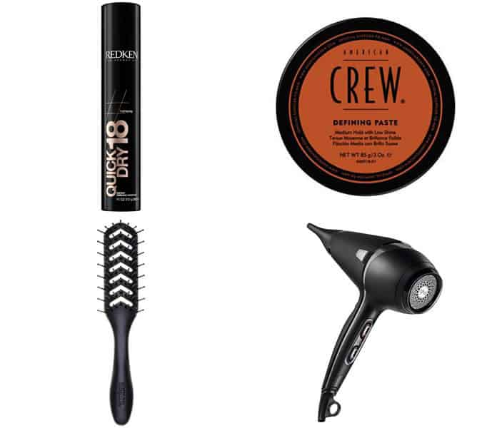 styling products for loose quiff haircuts