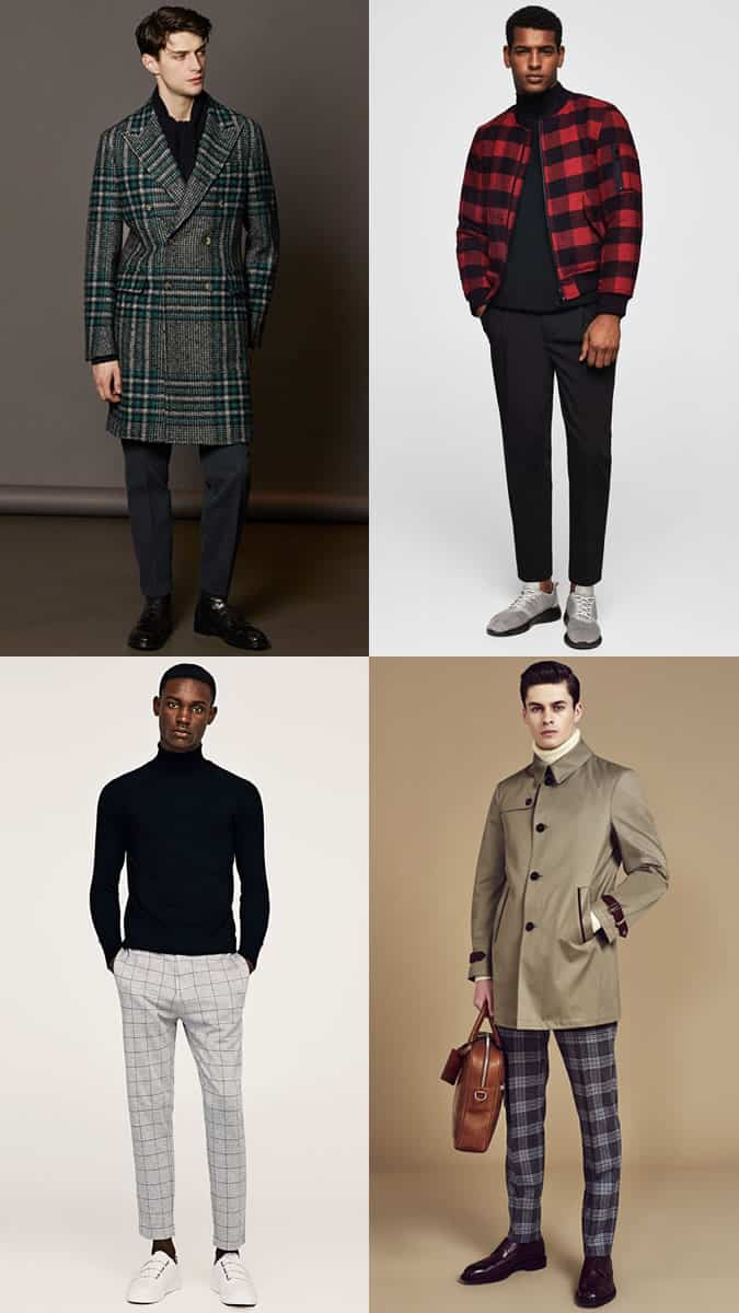 how to wear checks in autumn-winter