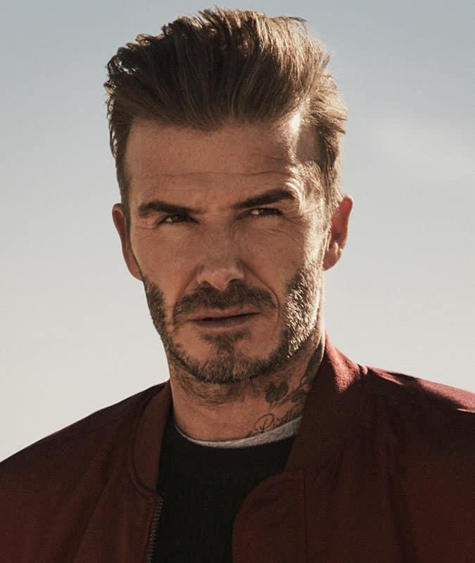 David Beckham's Best Hair Styles - Pompadour Haircut