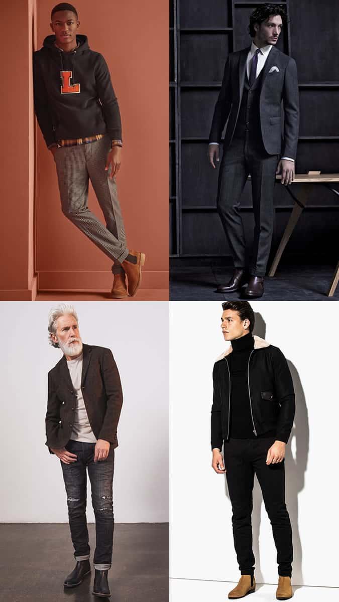 Ways to wear men's Chelsea and Jodhpur boots