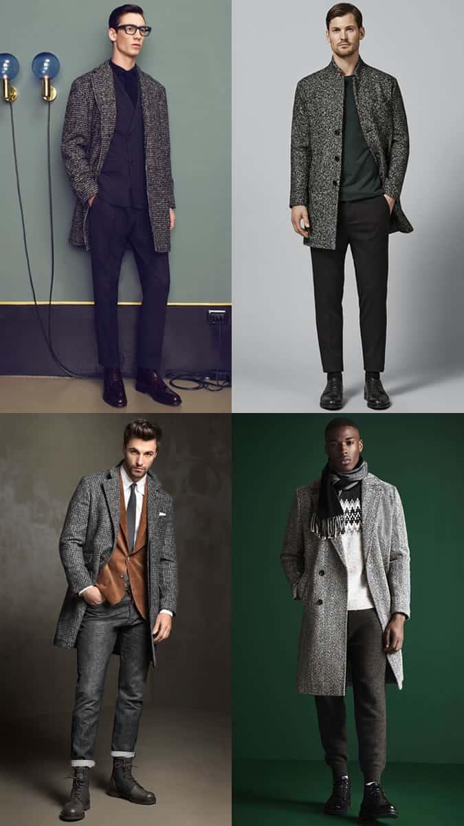 How to wear men's heritage wool overcoats