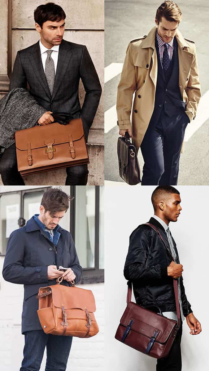 The best men's leather satchels and how to wear them