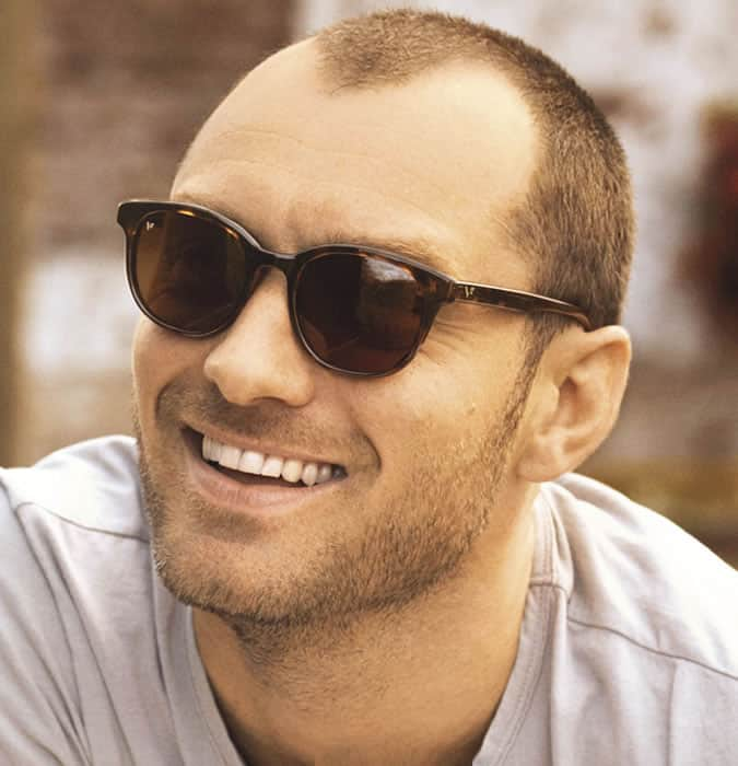 the buzz cut hairstyle for men with receding hair