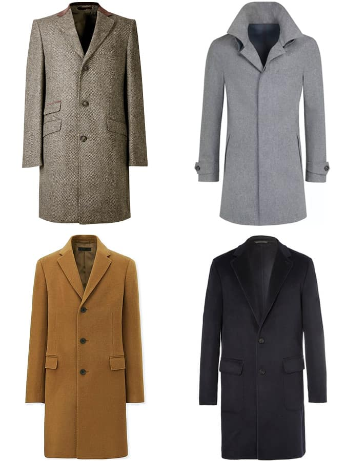 The Best Wool Overcoats For Men