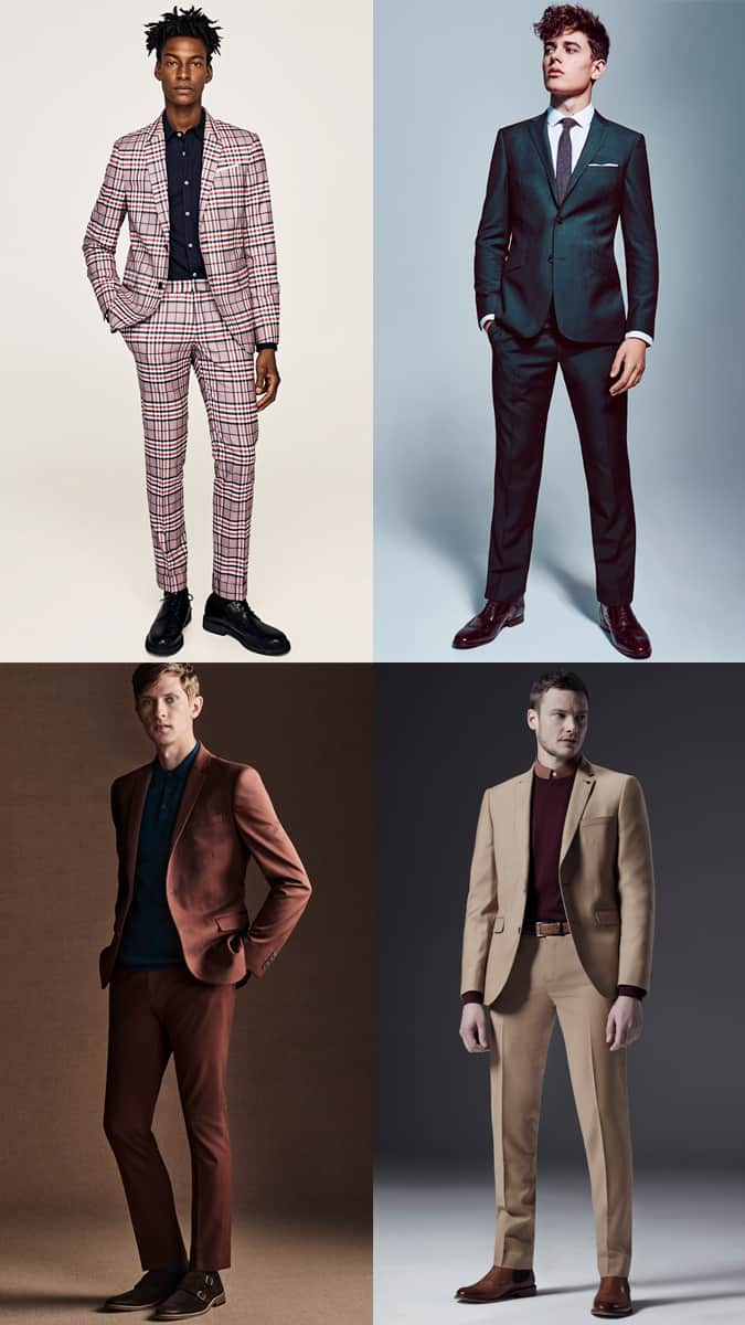 Men's Statement Suits Outfit Inspiration Lookbook For Autumn/Winter 2017