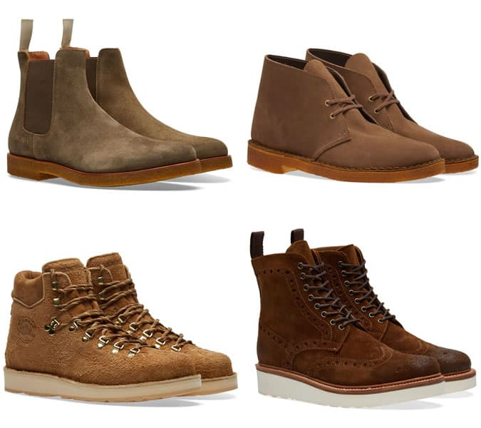 The best winter suede boots for men