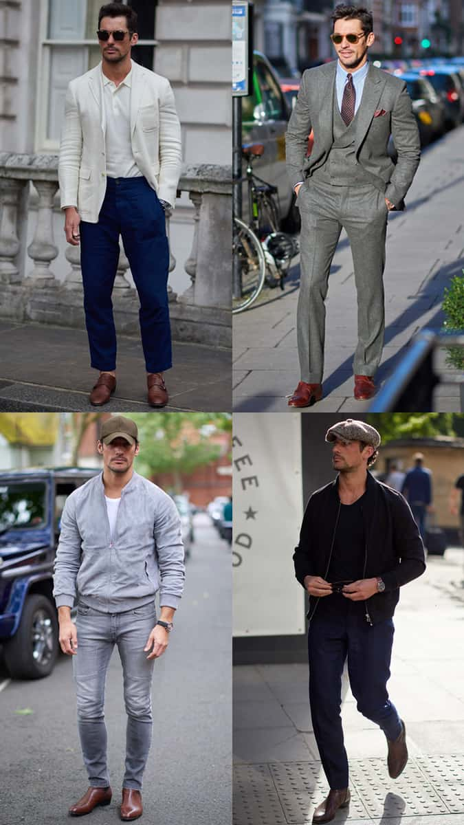David Gandy Street Style