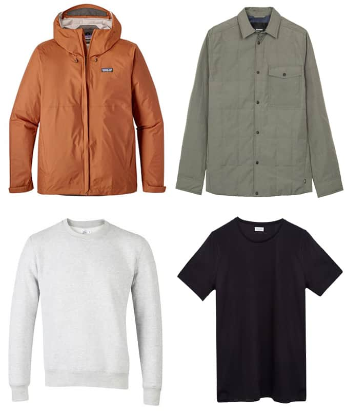 Men's ethical and environmentally friendly clothing