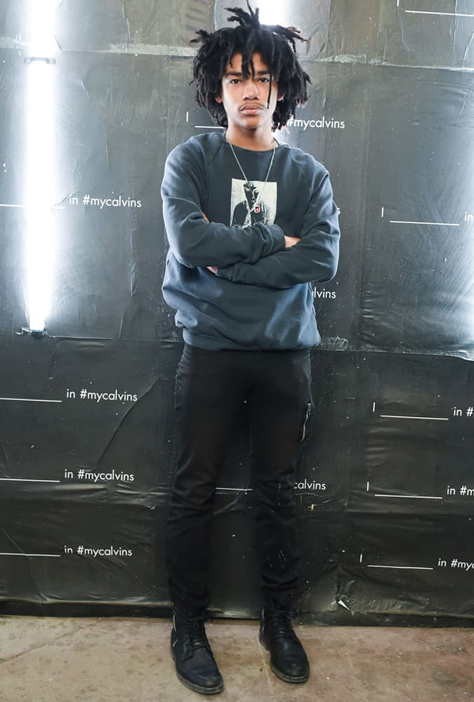 Luka Sabbat Wearing A Sweatshirt