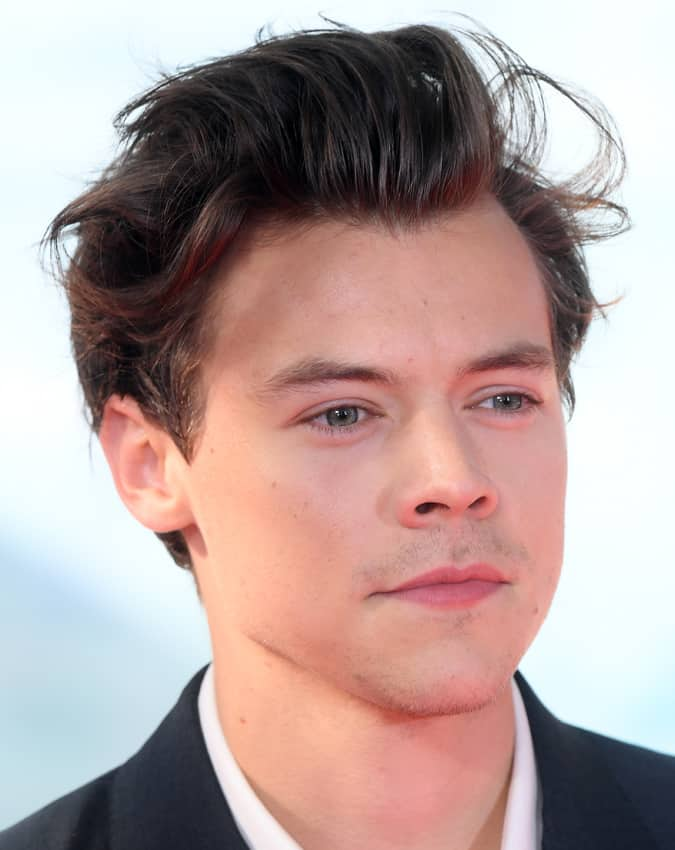 Harry Styles Dunkirk Hairstyle