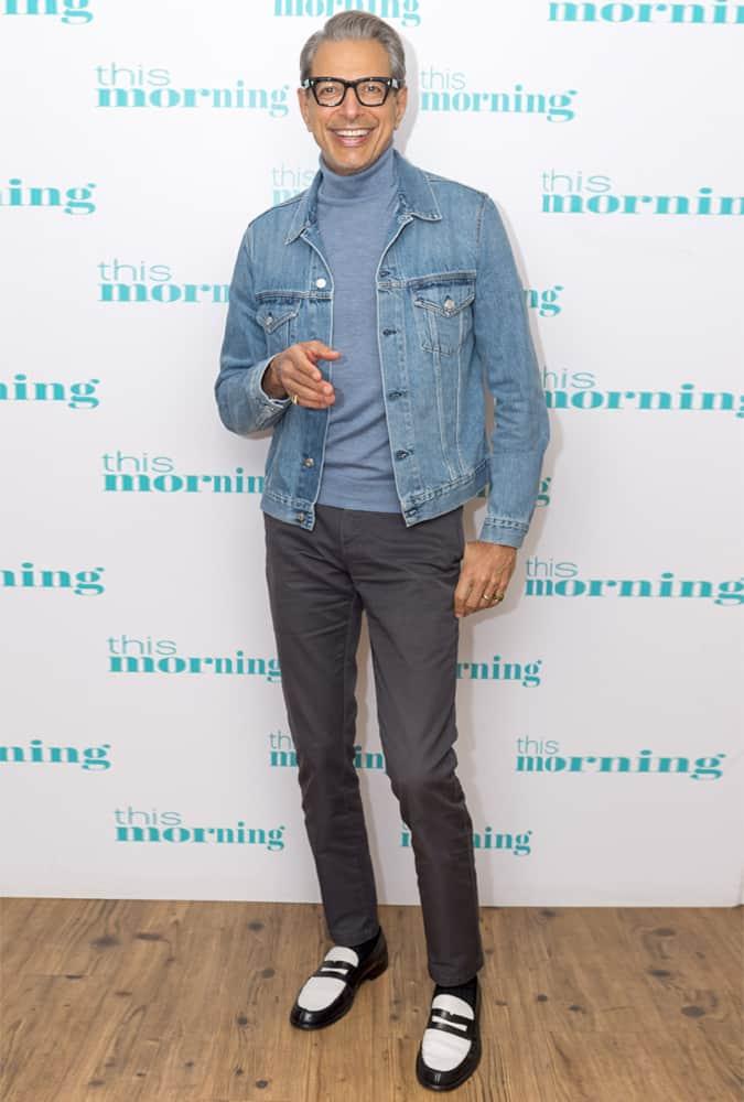 Jeff Goldblum Denim Jacket