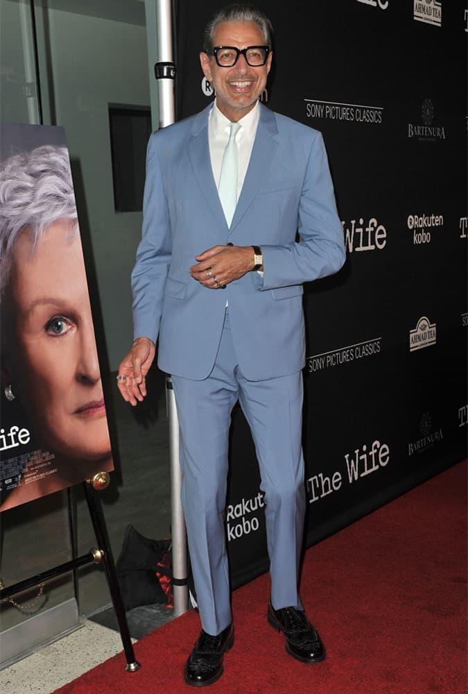 Jeff Goldblum Blue Suit